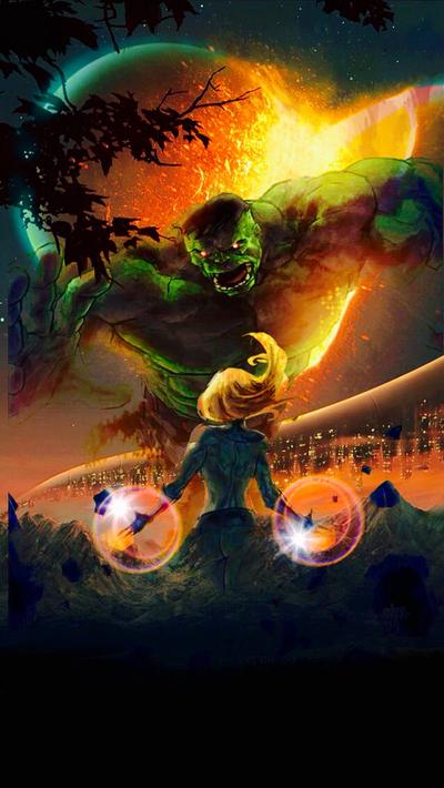 #Hulk #Fan #Art. (The Invisible Woman vs The Incredible Hulk)  By: Vmaster009. (THE * 5 * STÅR * ÅWARD * OF: * AW YEAH, IT'S MAJOR ÅWESOMENESS!!!™)[THANK Ü 4 PINNING!!!<·><]<©>ÅÅÅ+(OB4E)                 https://s-media-cache-ak0.pinimg.com/564x/58/ce/c3/58cec39528f3082039fcec567d5280be.jpg
