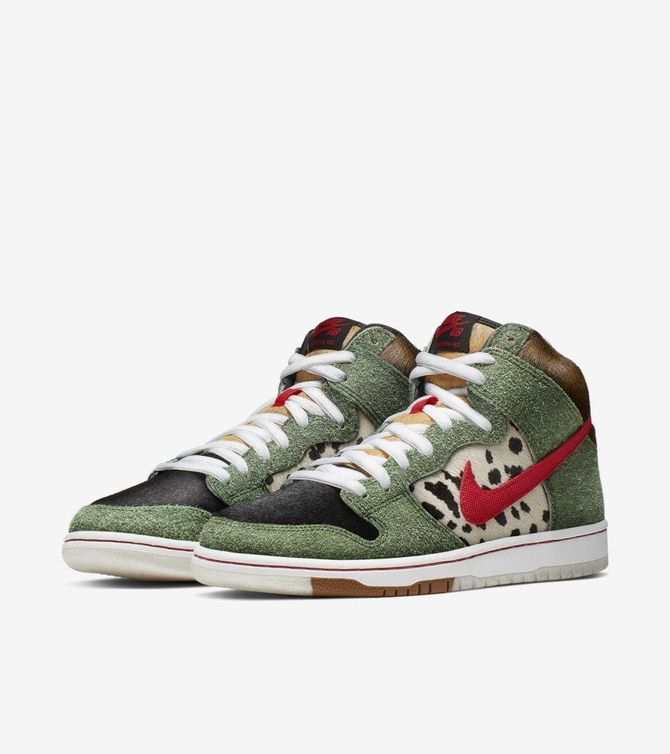 super popular eaf20 ad068 Nike SB Dunk High Retro  Walk the Dog  -Release Date  Saturday,