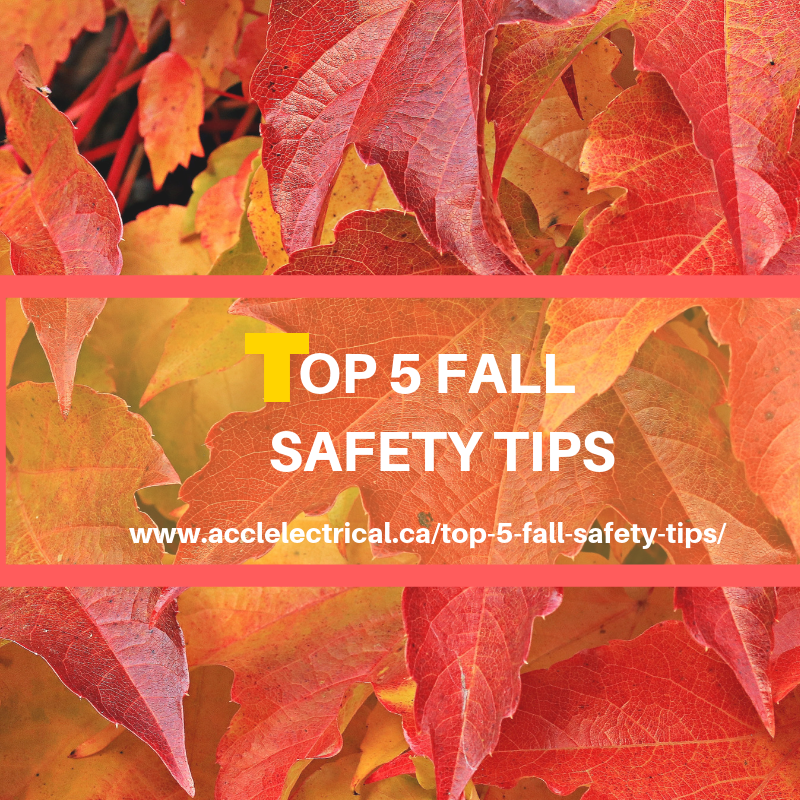 Top 5 Fall Safety Tips