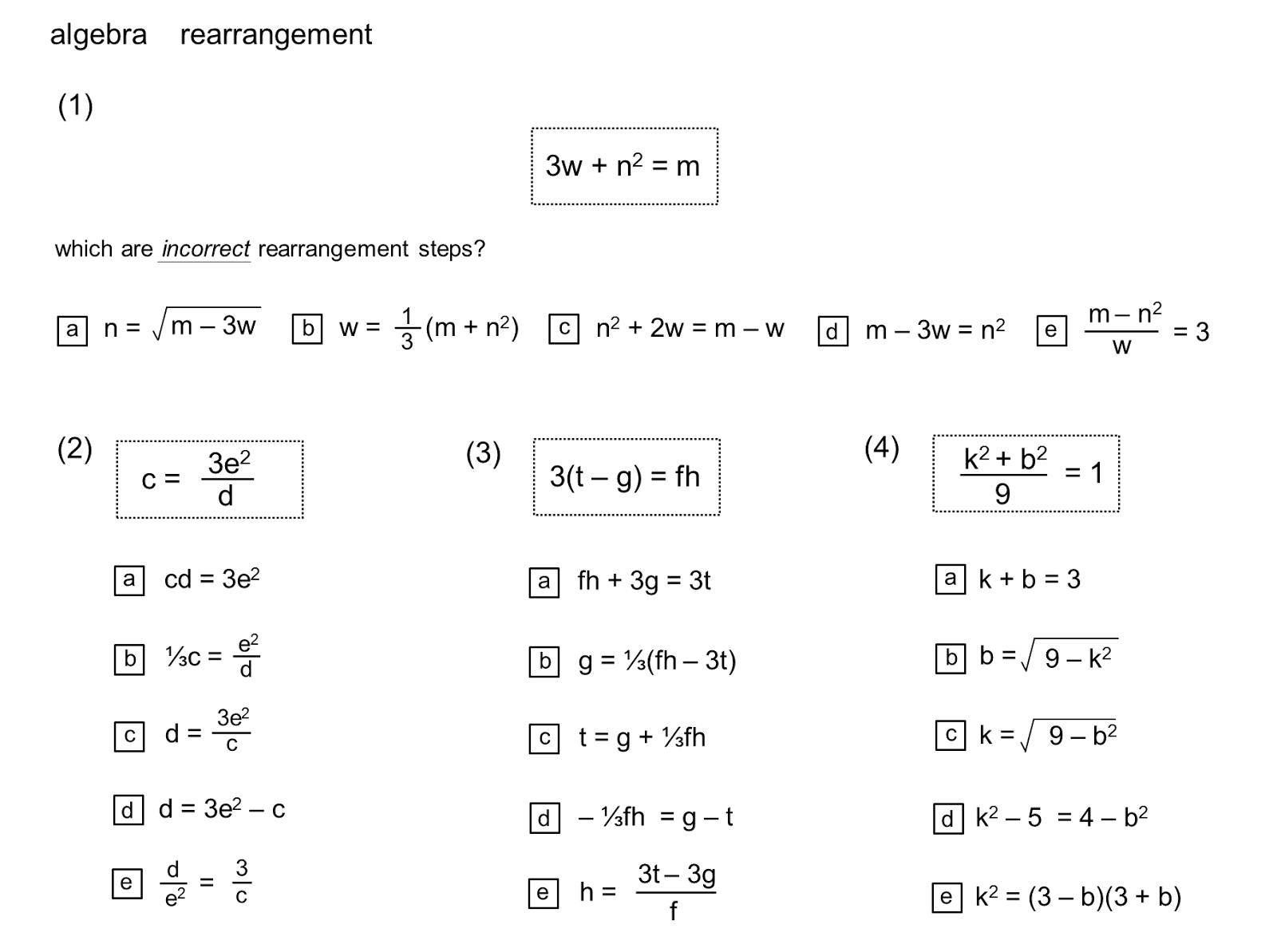 Median Don Steward Mathematics Teaching Rearrangement