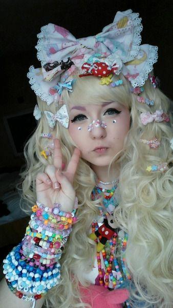 Kawaii Decora Fashion Accessories Hair Clips Jewellery Pastel Gyaru Fashion Harajuku Fashion Street Harajuku Girls