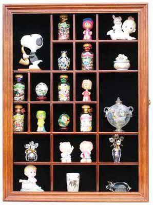 Amazon Com Miniature Figurine Display Case Small Wall Curio Cabinet Shadow Box Glass Door Tc02 Wall Curio Cabinet Shadow Box Display Case Glass Display Case