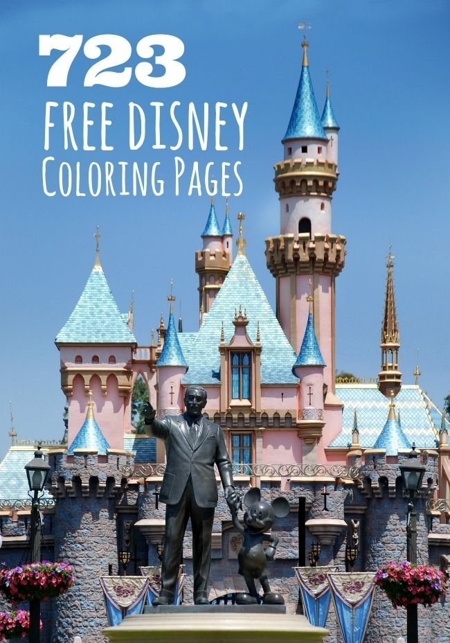 723 Free Disney Printable Coloring Pages Free Disney