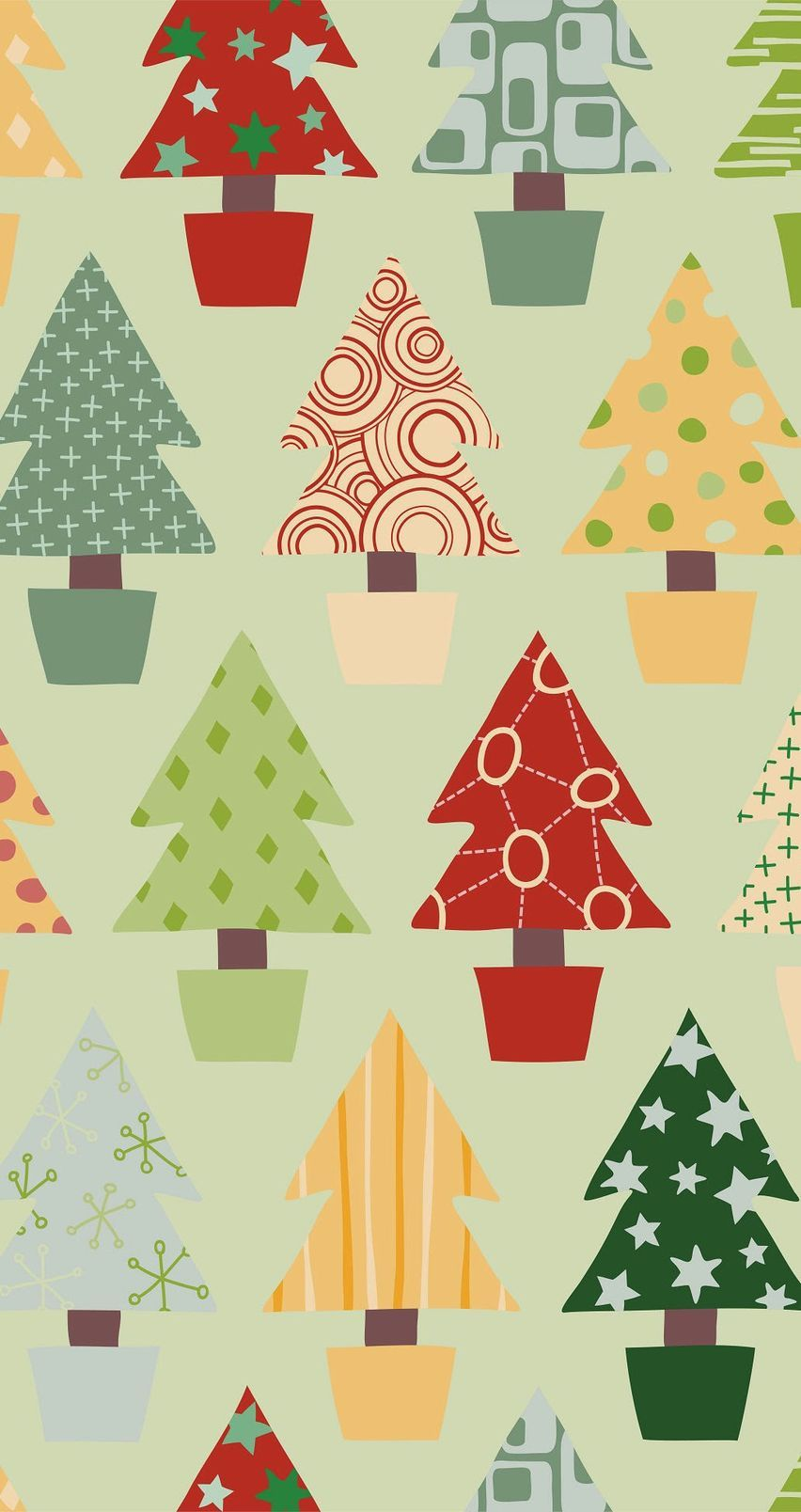 christmas tree patterns  tap image for more iphone 6