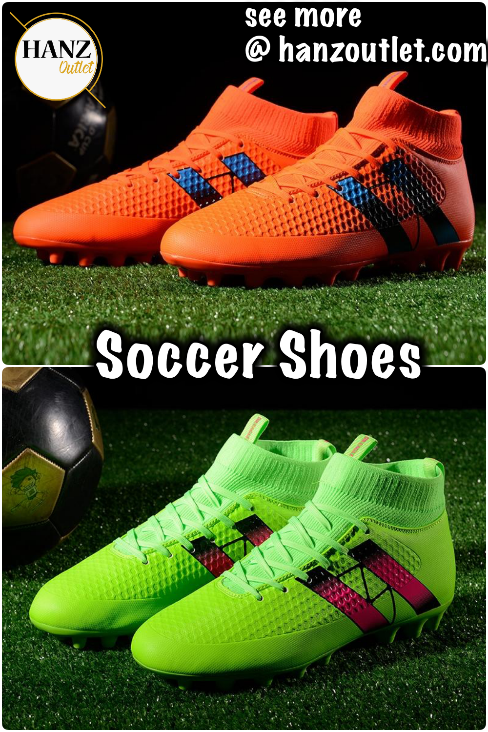 0dc40e265aa Spike soccer football shoes high ankle men crampon football boots superfly  original cleats football sneakers  Spikefootballshoes  soccershoes   footballshoes ...