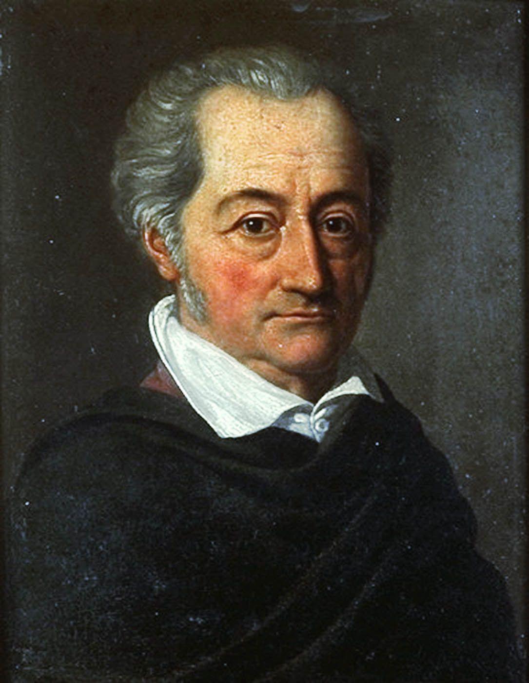 Johann Wolfgang Von Goethe 1749 1832 The First Grand
