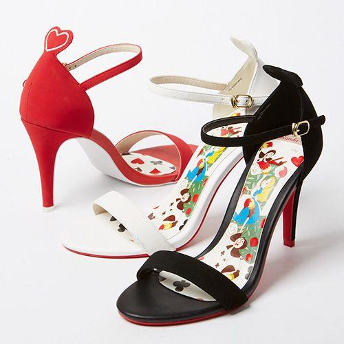 Queen of hearts sandals