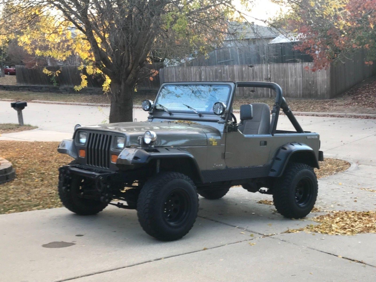 ebay 1998 jeep wrangler 1989 jeep islander 4x4 full custom v8 305 rh pinterest com