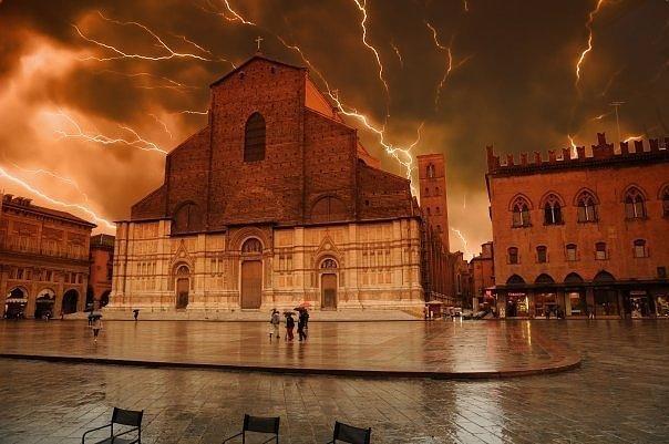 Bologna Di Notte by Natalia Desko | Bologna, Foto, Italia