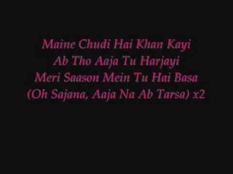 Maine Payal Hai Chankai With Lyrics Lyrics Songs Intro