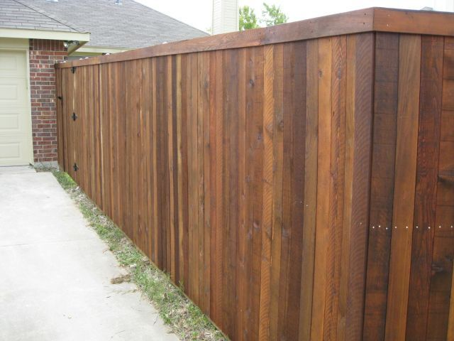 Budget Fence Pictures With Images Backyard Fences Modern Backyard Fence