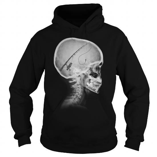 Cool and Awesome My mind thinking about Fishing all day Shirt Hoodie