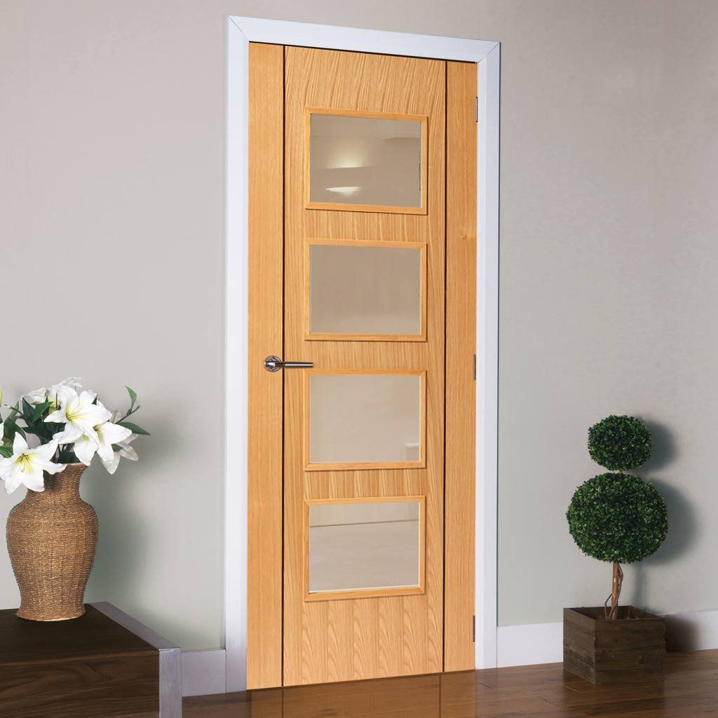 J B Kind Oak Contemporary Blenheim Fire Door 1 2 Hour Fire Rated Prefinished Oak Fire Doors Pocket Doors Internal Oak Doors