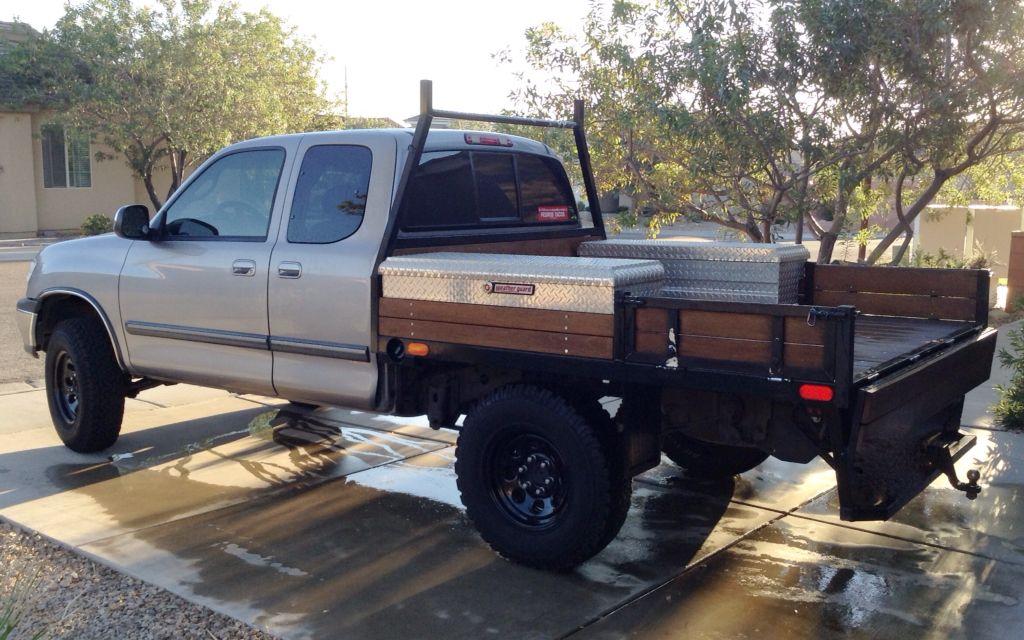 Tundra Flatbed Custom Truck Beds Toyota Trucks Hunting