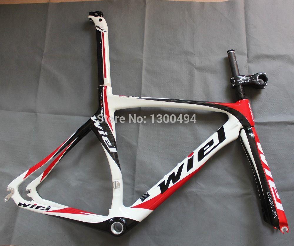 road bike carbon frame ,wiel bicycle frame ,700C Frame + fork + ...