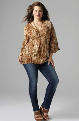 efd95540cc5 How to Wear Skinny Jeans If You re Plus Size