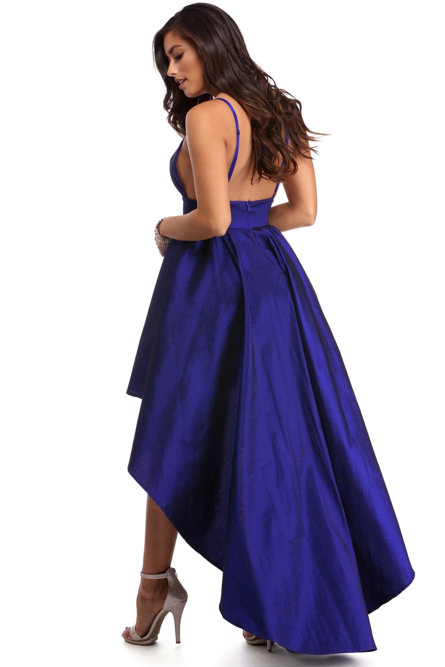 03fabe1d442 Lizbeth Navy Classic Twist Formal Dress