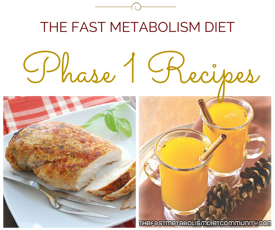 easy fast metabolism diet recipes