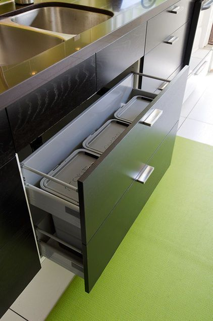 Best Ikea Cabinet Customized With Trash Recycling And 400 x 300