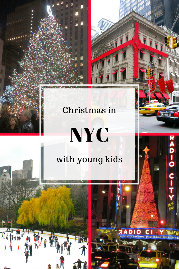 NYC at Christmas with young kids; what to see and do | Explore The ...