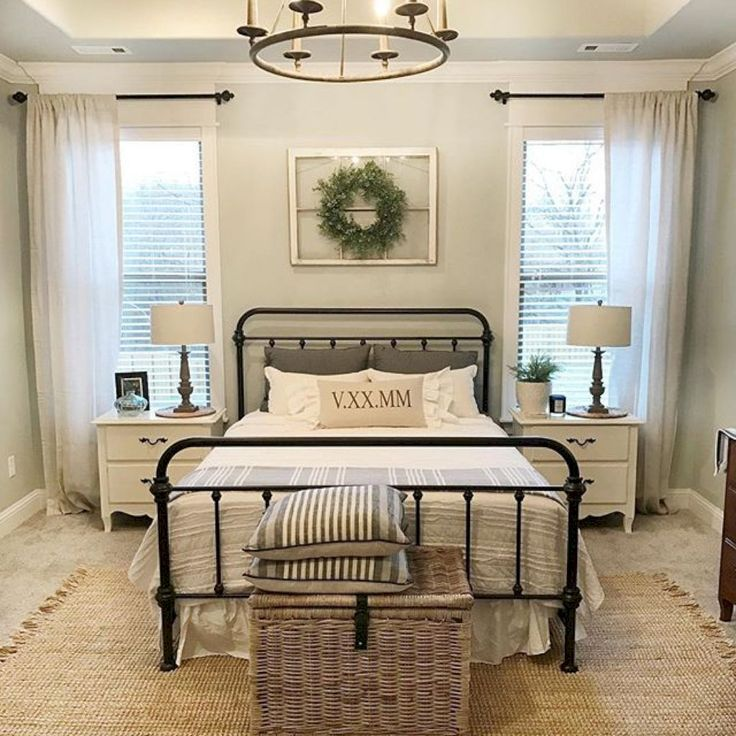 50 Best Modern Farmhouse Bedroom Remodel Ideas | Modern farmhouse ...