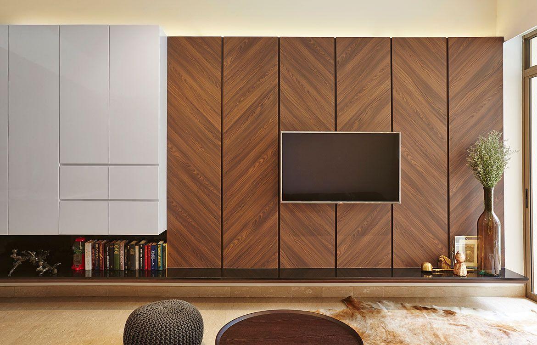 A Necessarily Compact Design In Singapore Habitus Living Living Room Tv Wall Tv Cabinet Design Wall Tv Unit Design