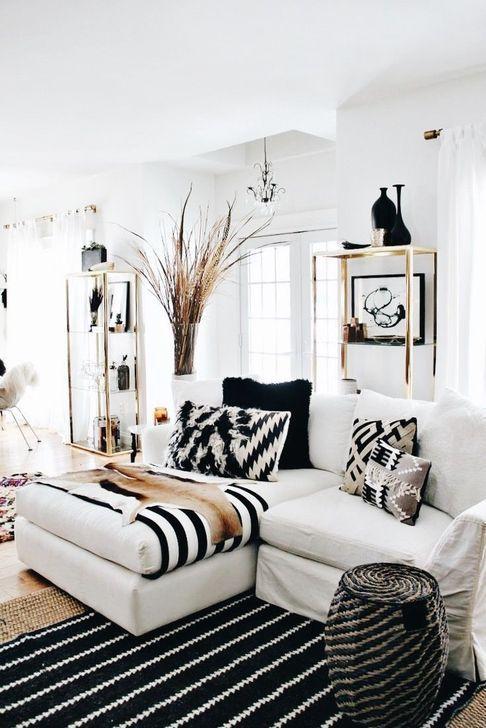 Cozy Black And White Living Room Design Ideas 41 White Living Room Decor Black And White Living Room Decor Black Living Room Black white living room decor