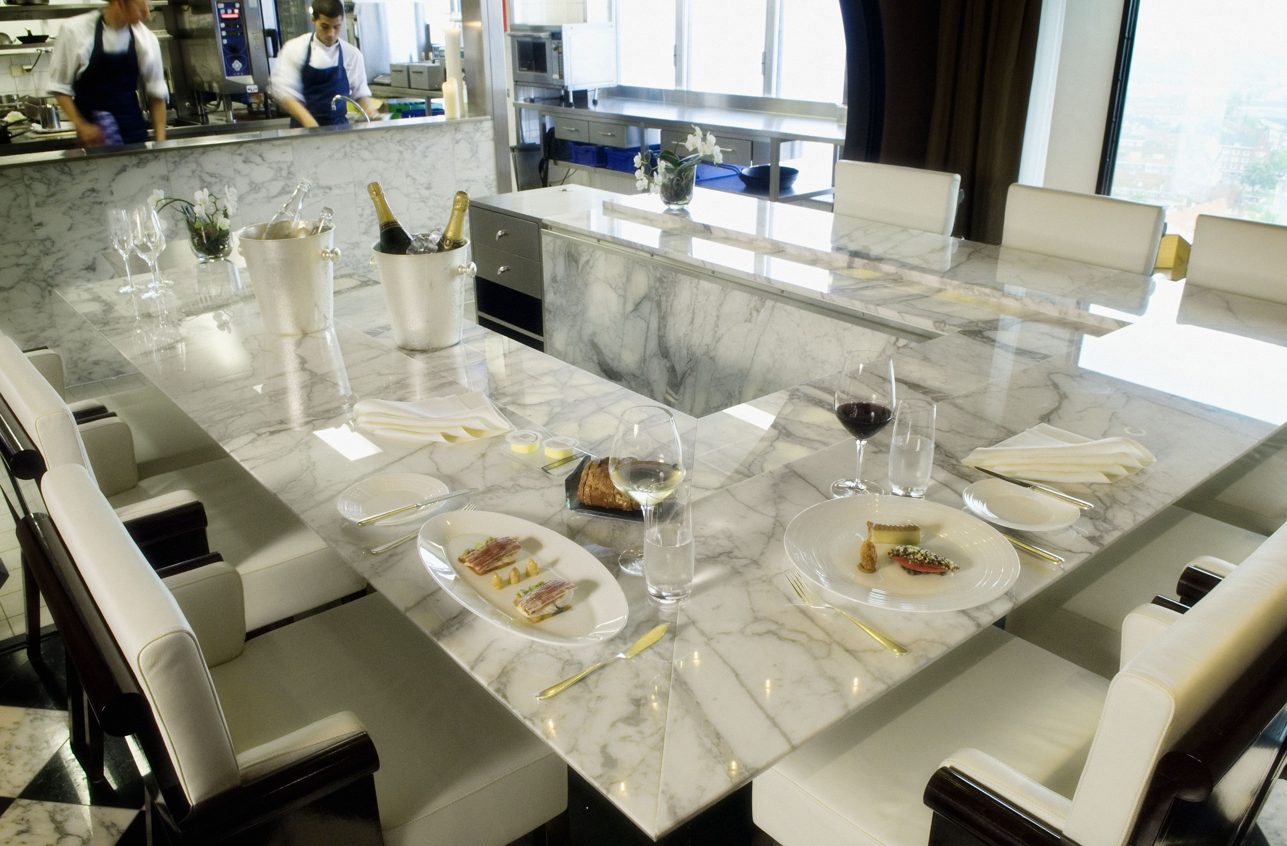 Chef S Table Ciel Bleu Restaurant Hotel Okura Amsterdam Top Hotelslow Cost