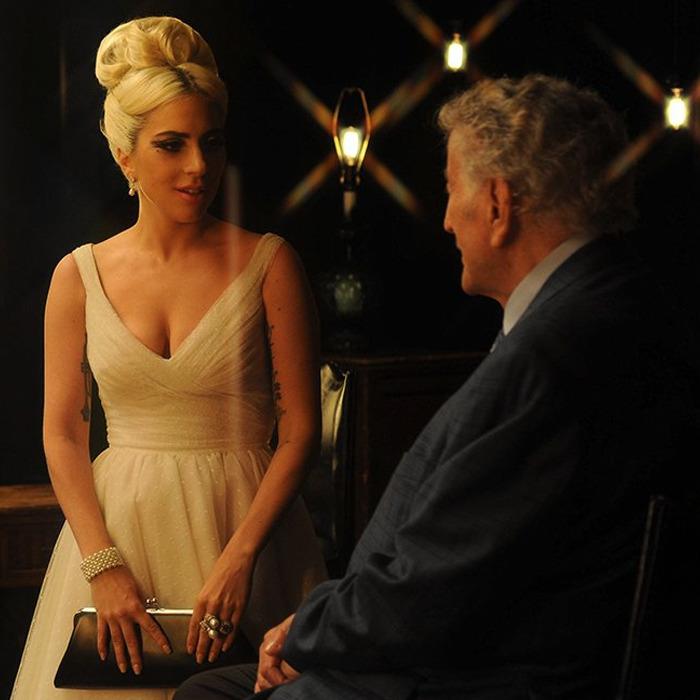 Lady Gaga Tony Bennett In 2021 Lady Gaga Lady Sleeveless Formal Dress