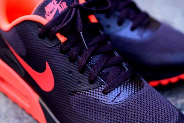 Nike Air Max 90 – Wine Crimson HYPERFUSE   Air max