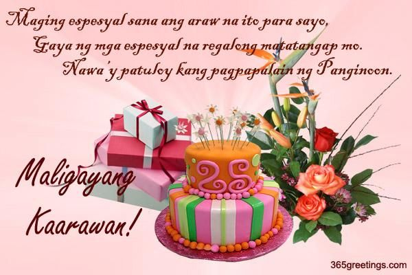 20+ Birthday Message For Best Friend Tagalog