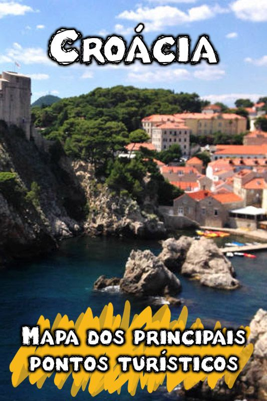9 Principais Pontos Turisticos Da Croacia Split Hvar E Mais Croacia Ponto Turistico O Turista