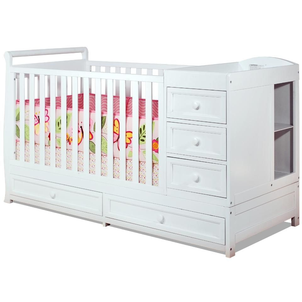 Baby Mile Catherine 3-in-1 Convertible Crib from BabyAge.com ...