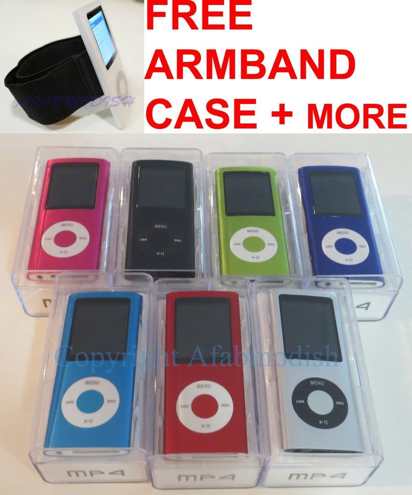 "16GB 32GB MP3 MP4 Player 1.8"" Screen FM Radio Games Movies Voice Recorder eBook  | eBay"