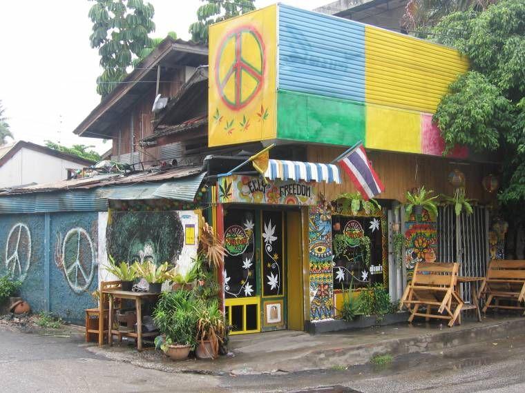 Rasta Bar Reggae Bar En Chiang Mai Tiki Bar Chiang Mai Reggae