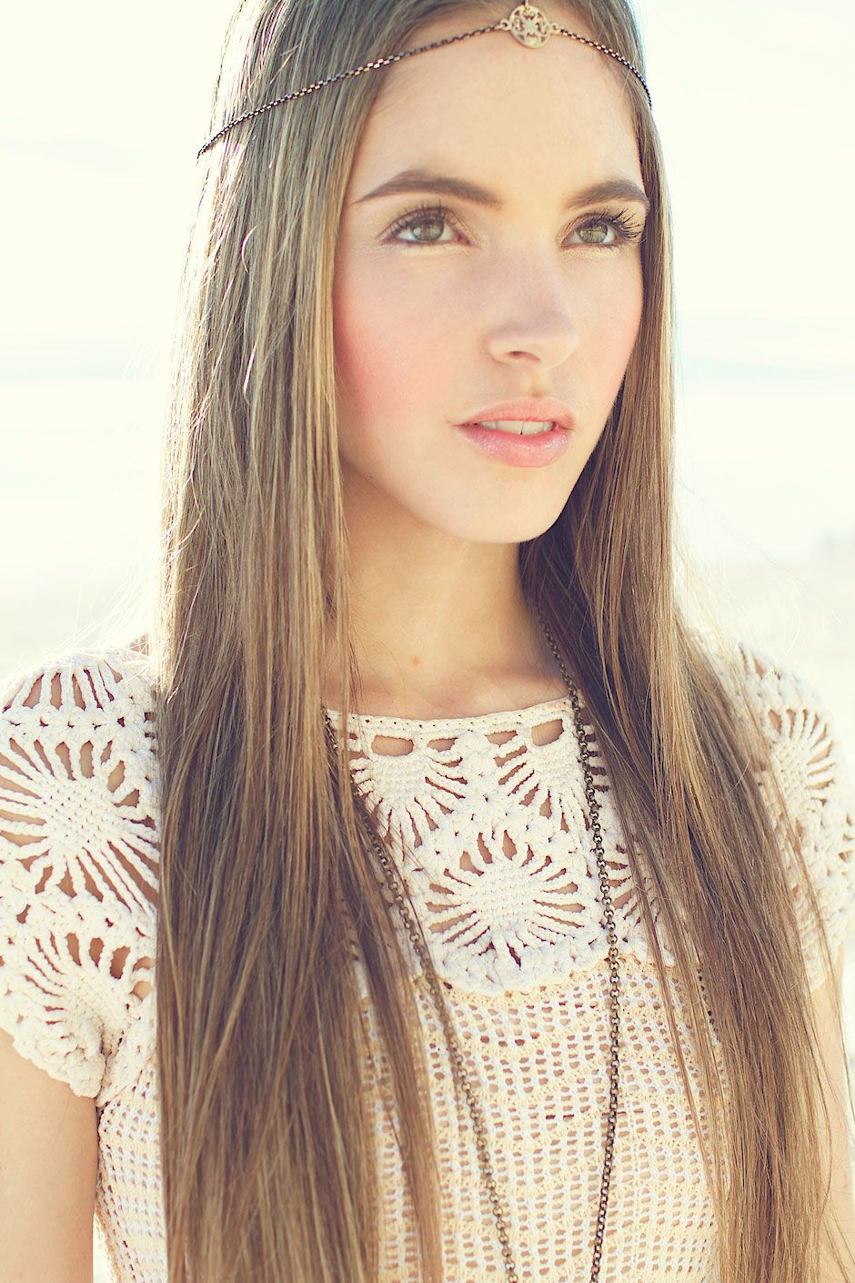 Lovely straight hair so boho chic hairstyles pinterest