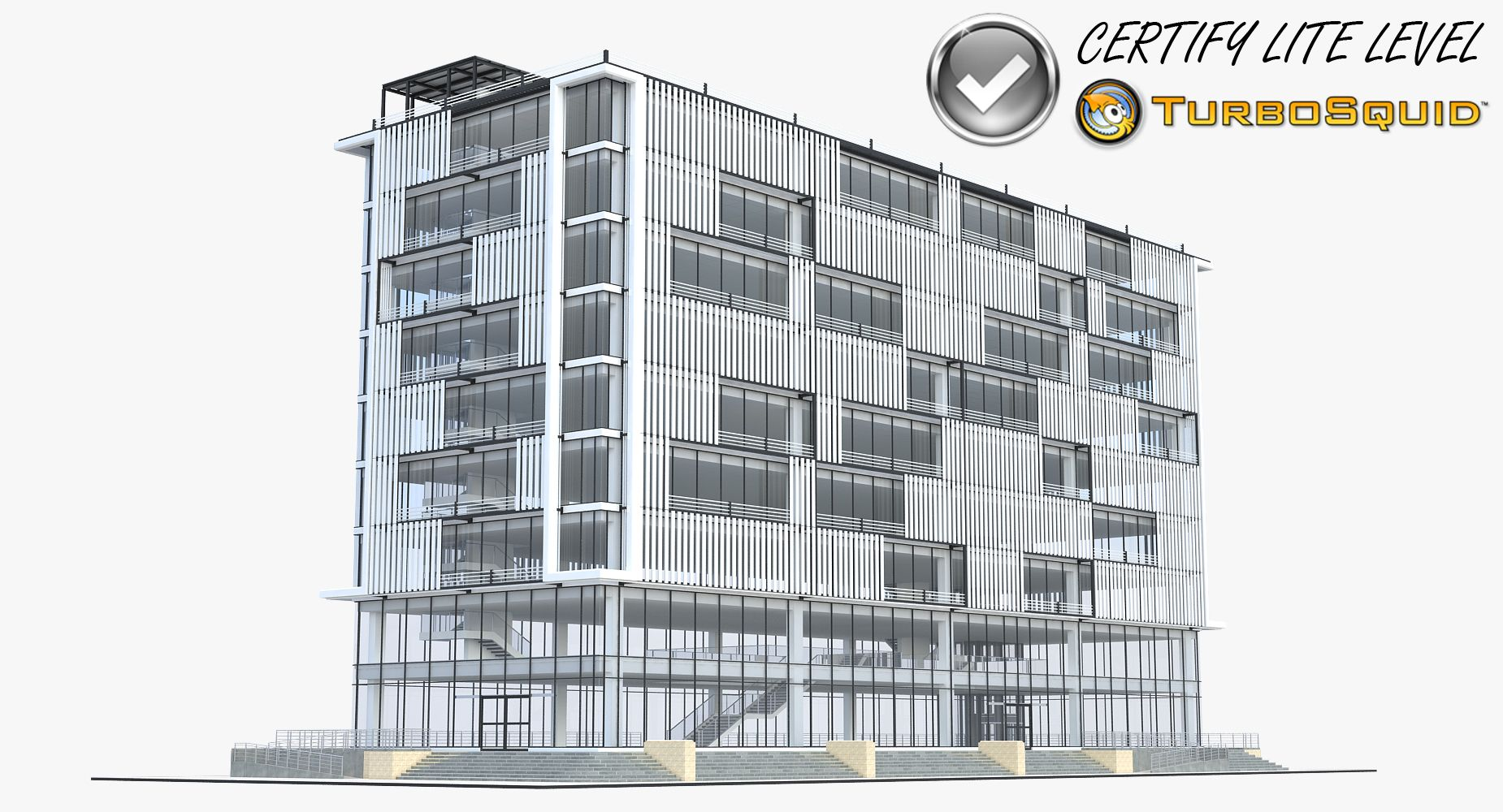 Office Building 1 #Sketchup #3Dsmax #Vray | [My Work] 3D Model ...