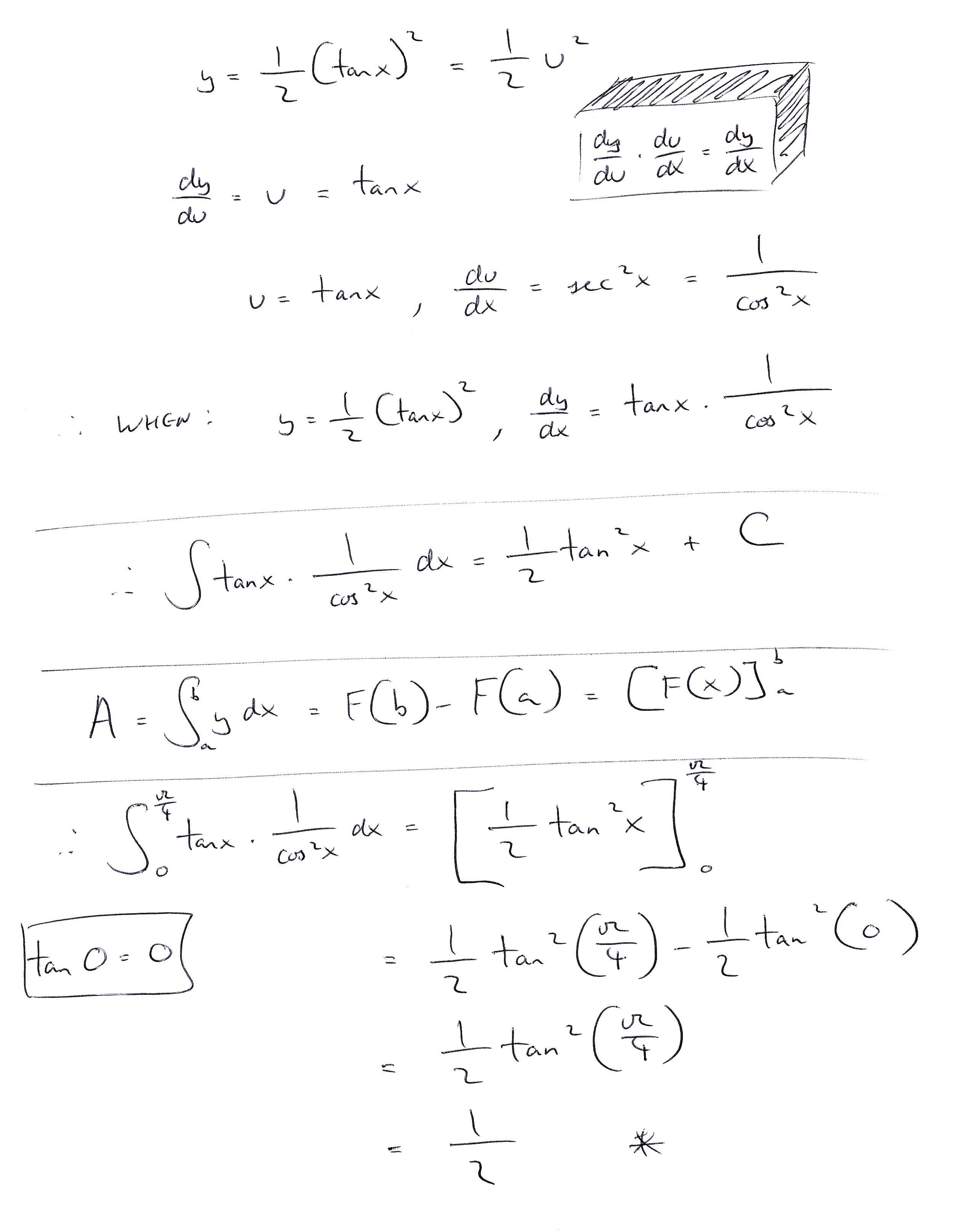 Calculus Problem Solved