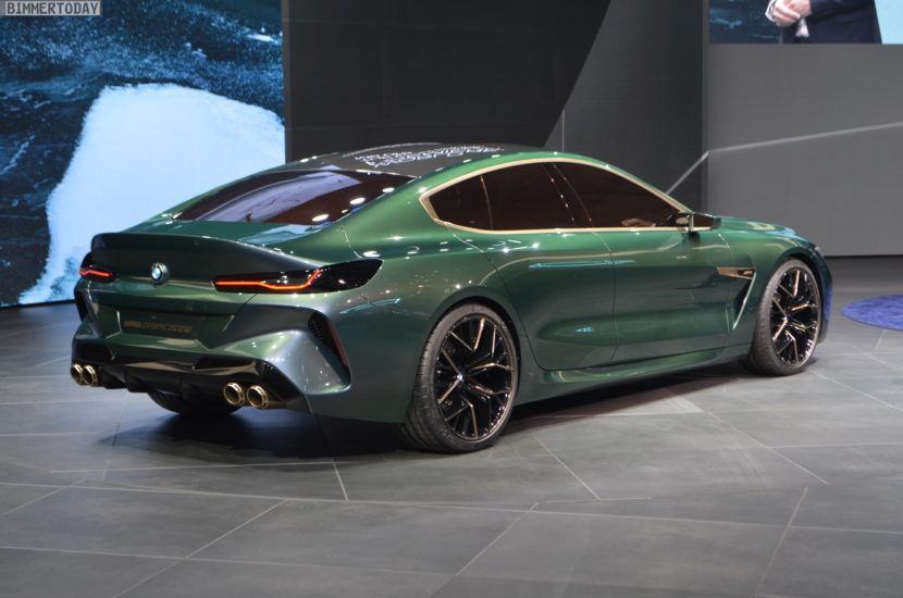 Bmw Concept M8 Gran Coupe First Videos With Images Bmw