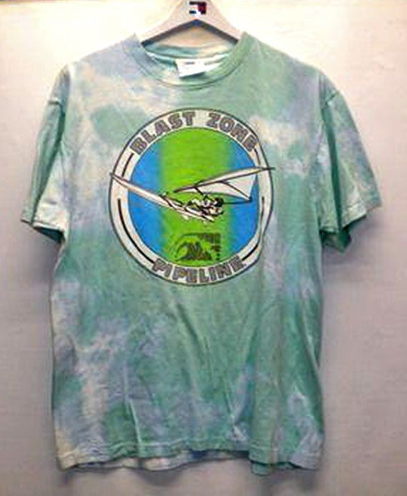 ae389b3e A cool vintage PIPELINE® tee from the 80's. Visit the new PIPELINE® at