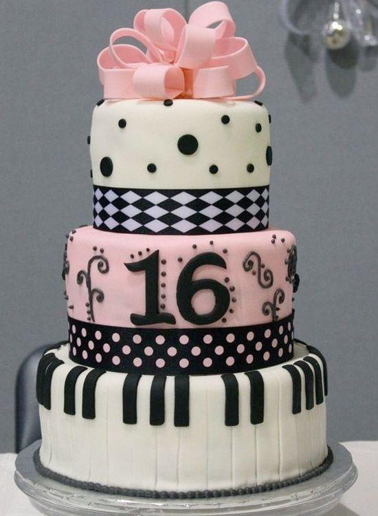 16 Beautiful Sweet 16 Cakes Sweet 16 cakes 16 cake and Dress cake