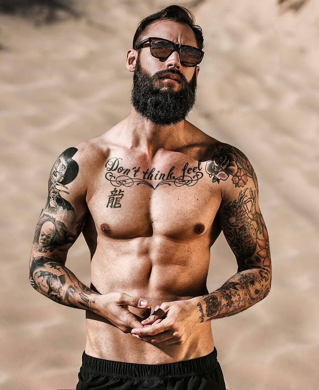 3 405 Mentions J Aime 25 Commentaires Beard Tattoo