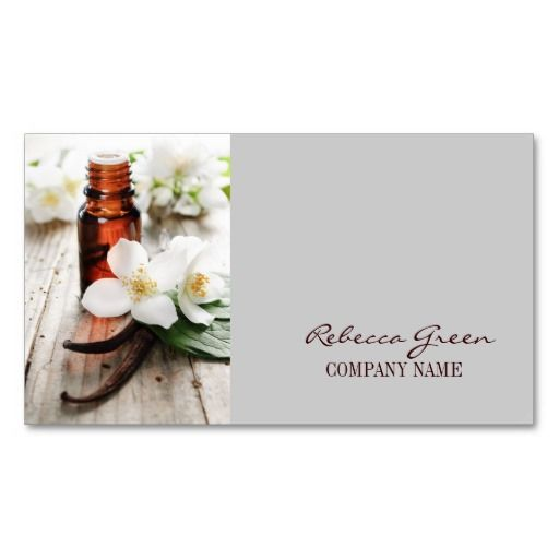 Aromatherapy natural essential oil massage therapy business card aromatherapy natural essential oil massage therapy business card templates created by businesscardsdepot this design is available on several paper types reheart Image collections