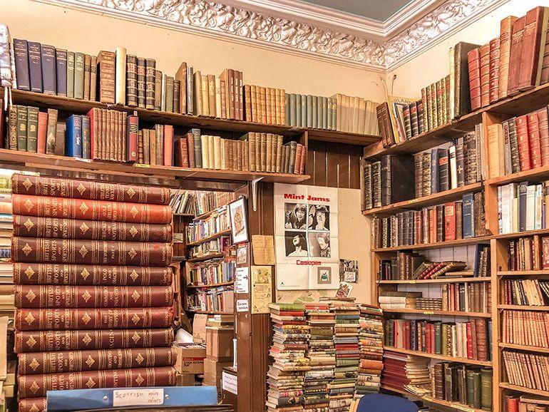12 Beautiful Edinburgh Bookstores Edinburgh Literary Travel