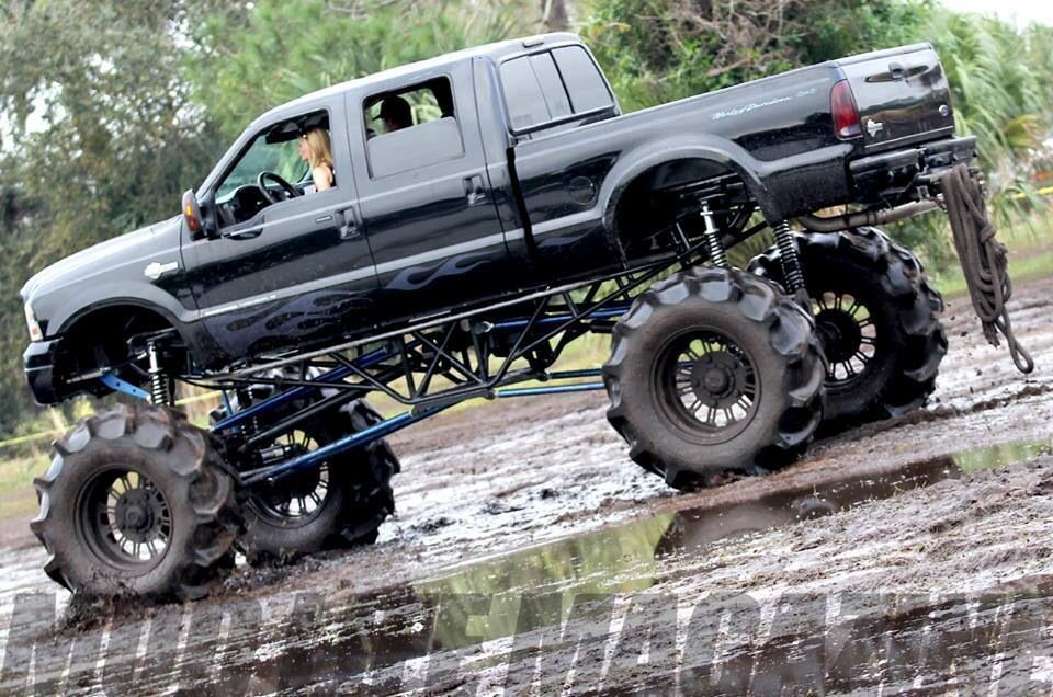 Ford Superduty Mega Mud Truck | Offroad | Pinterest | Ford, 4x4 and ...
