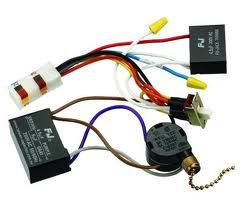 wiring harness capacitor pull chain and reverse switch | Hunter ceiling fans,  Ceiling fan, Ceiling fan with lightPinterest