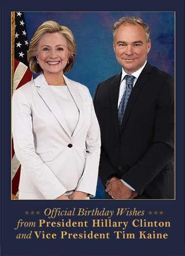 58d07f907be800388968e262f50cec04 funny funny political funny, president, hillary clinton, vice,Hillary Birthday Meme