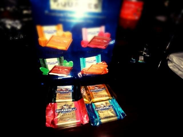 I love this chocolate !!! - 4件のもぐもぐ - Ghirardelli squares! Something to nibble! by Trixcee Tan