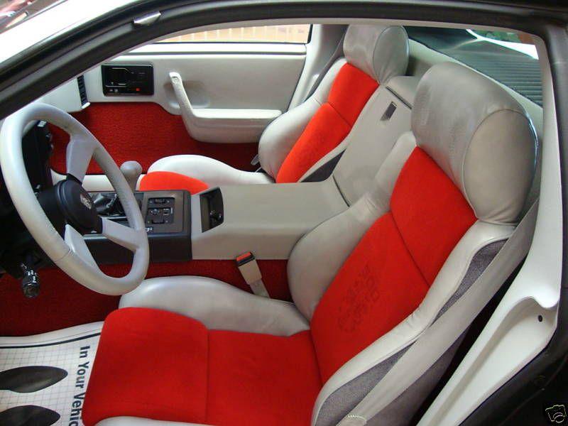 Fiero Indy Interior Pontiac Fiero Gt Pontiac Fiero Pontiac Firebird