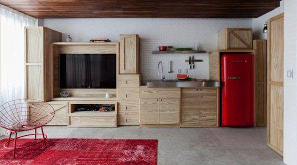 Kleiner Deko Kühlschrank : Die küche mit retro kühlschrank ausstatten einrichtung